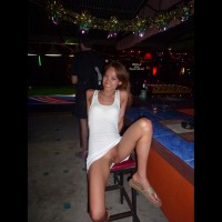 Pantieless Girl: *PU Upskirts In Samui Bars - Part 3 - Pantieless Girls