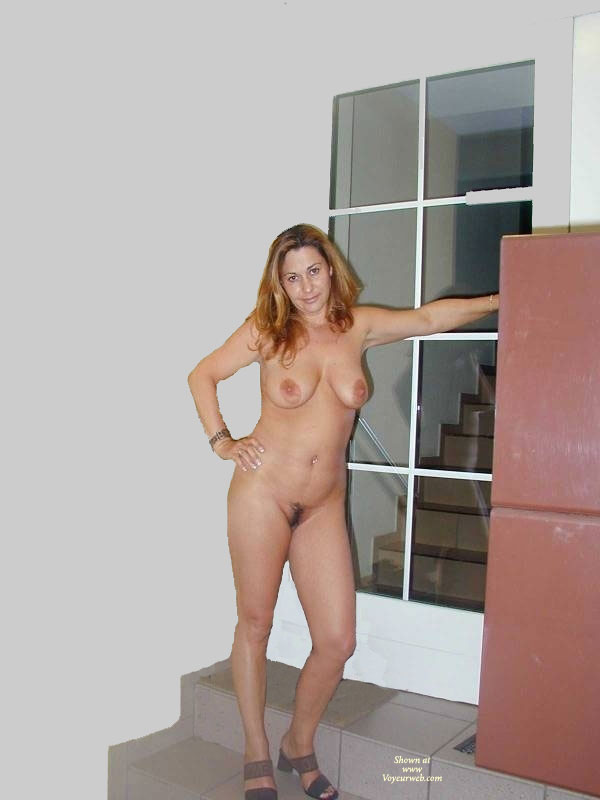 My wife with big dildo