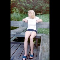 Topless Girlfriend: Upskirt - Topless Girlfriends
