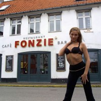 Topless Girl: *MFF Supercute Young Barmaid 1 - Topless Amateurs