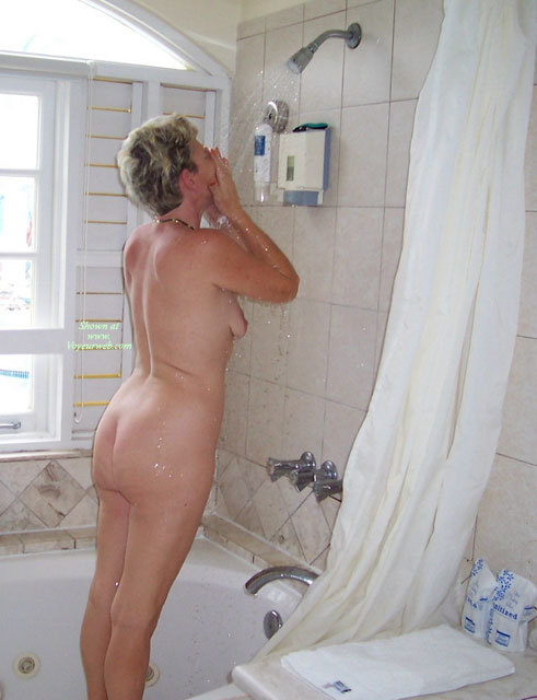 Pic #1 - My Wife , Showering Can Be Fun