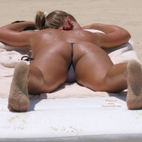 Miami Beach Girl - See Thru Bikini - G String