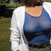 Cheryl - Blue Top