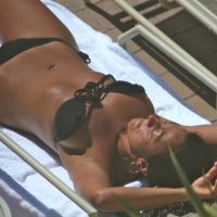 Poolside View/Sideboob - Bikini Voyeur, Outdoors, Public Place