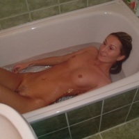 Wife in Bathroom - Small Tits, Wet, Wife/Wives