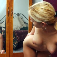 Puffy Nips - Big Areolas, Hanging Tits, Reflection