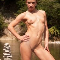 New Pics From Jenny - Brunette, Nature, Outdoors, Small Tits