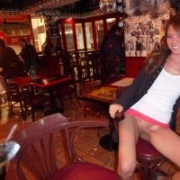 Flashing Pussy in Bars and Restaurants in Hong Kong 2