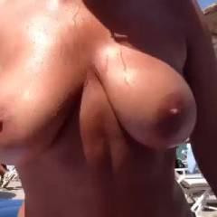 On the beach in Crete