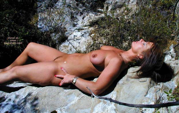 Pic #7 - *Ch Tm Hikes Nude At The State Park