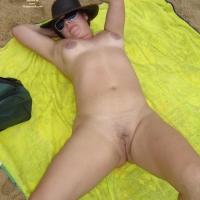 My Wife Beatrice on Beach Again