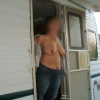 Camping in Calif - Outdoors, Big Tits