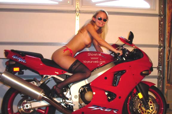 Pic #4 - Playing with my Red Toy