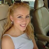 Sonya In Her Car