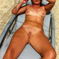 Ma Cherie - Naked Blonde, Brunette, Flashing, Mature, Outdoors, Public Place