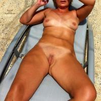 Ma Cherie - Blonde, Brunette, Flashing, Mature, Outdoors, Public Place