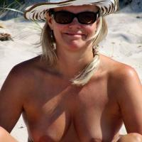 Beach Day - Beach, Big Tits, Blonde, Mature, Outdoors, Public Place