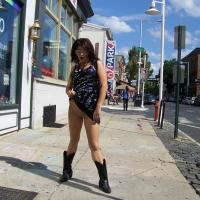 Around Philly Again - Exposed In Public, Flashing, Nude In Public