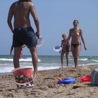 Beach Tennis Hottie - Beach, Public Place