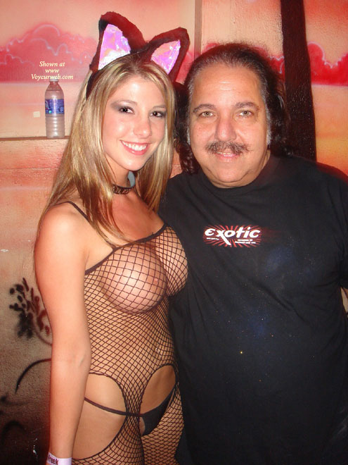 Pic #1 - Ron Jeremy - Big Tits, Fishnet, G String, Sexy Panties , Ron Jeremy, Black Fishnet Catsuit, Erotic Costume, Black G-string, Blonde Girl In Catsuit, Big Boobs, Fishnet, Black Panties, Fishnet Body Suit