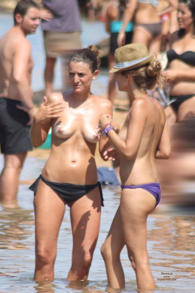 Pic #1 - Balearic Topless (2) - Beach Voyeur