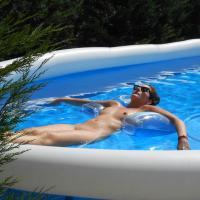 Sunny Day II - Shaved, Bikini Voyeur