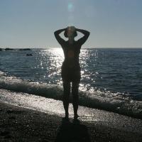 Crete - Beach, Wet