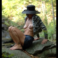 Hot Wife Genevieve At A Pond