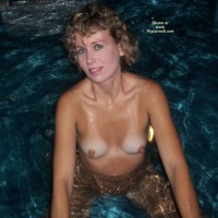 Ruthie In The Jacuzzi