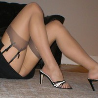 Heels And Nylon Stockings