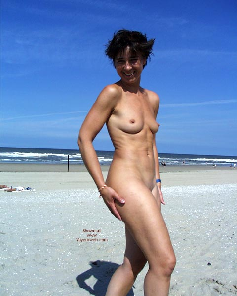 Pic #2 - My Wife At The Beach In Holland