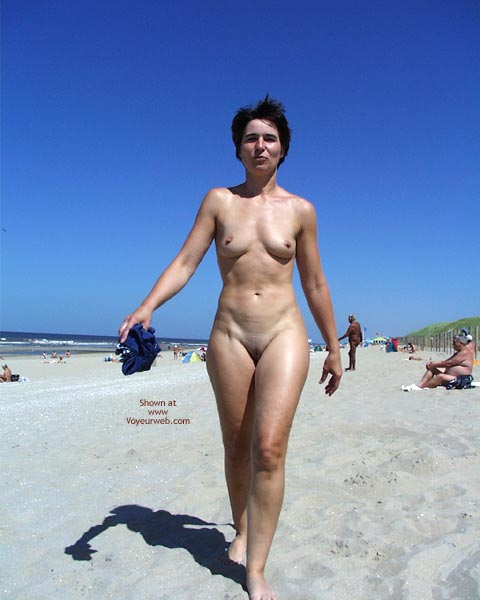 Pic #4 - My Wife At The Beach In Holland