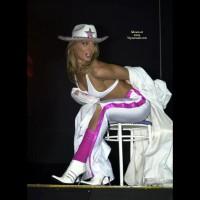 Maya Stripping On Stage - Girls Stripping