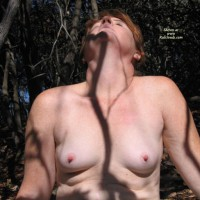 Hot Redhead @49 In The Woods