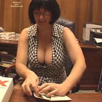 *sw Secretary Gets A Surprise (wig Sex