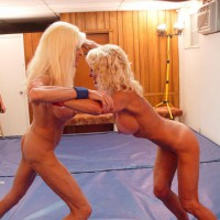 *gg Sasha Does Some Nude Wrestling!!!!