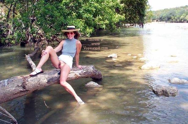 Pic #6 - Denise fishing around