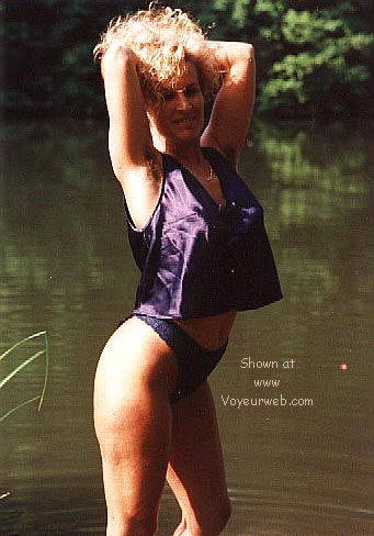 Pic #2 - Candy's first nudes at the fishing pond >2<