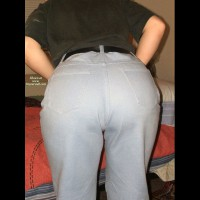 Shy Girlfriend's Tush
