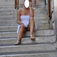 Lovely Italy - Public Exhibitionist, Public Place