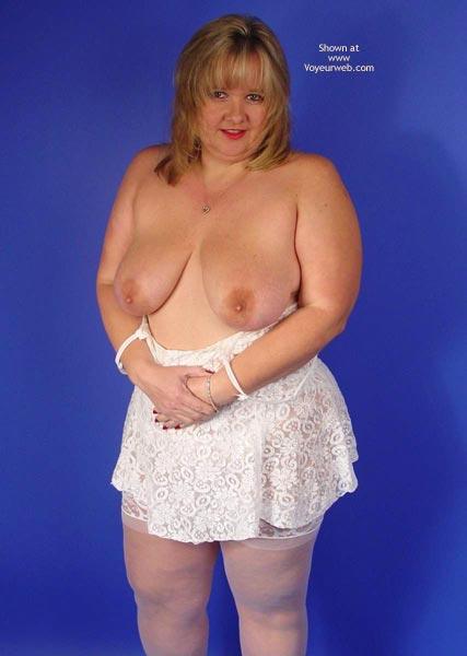 Pic #2 - Connie In White Lace