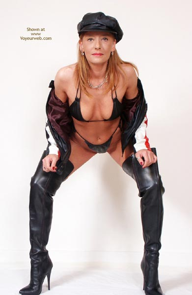Pic #1 - Susy Rocks...In Leather