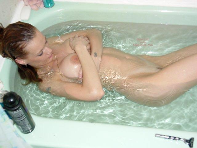 Pic #5 - Getting Into My Bath