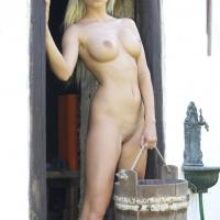 Need Milk? - Big Tits, Blonde Hair, Nude Outdoors, Shaved