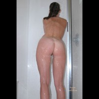 Haley In The Shower