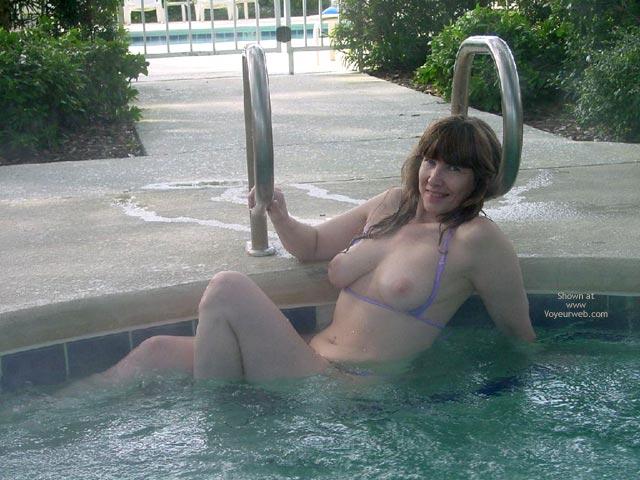 Pic #3 - Purple Patty Georgia Hottub Topless