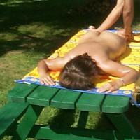 Indian Gramma At Nudist Camp