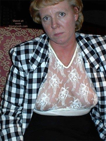 Pic #2 - Rhonda Flashing In Hotel Lobby