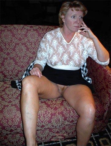 Pic #5 - Rhonda Flashing In Hotel Lobby