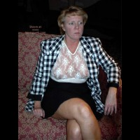 Rhonda Flashing In Hotel Lobby